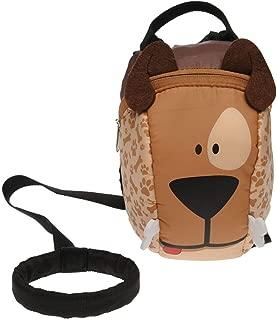 Star Backpack Dog Junior Boys Brown Rucksack Knapsack Bag Pack
