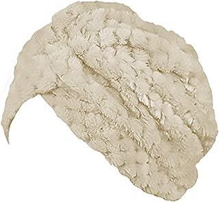 Zainabu Faux Fur Turban Hair Cover One Size