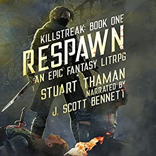 Respawn: An Epic Fantasy LitRPG cover art