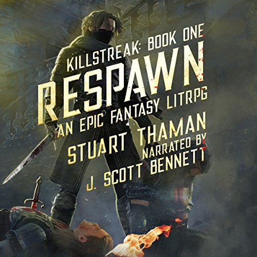Respawn: An Epic Fantasy LitRPG audiobook cover art