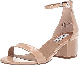 Steve Madden Women's IRENEEW Heeled Sandal, blush patent, 8 W US