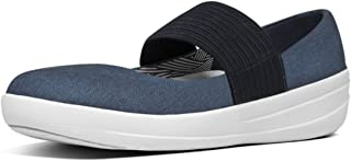 FITFLOP Womens F-Sporty Mary Janes Midnight