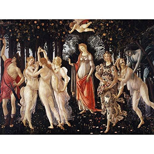 Sandro Botticelli La Primavera Extra Large Art Print Wall Mural Poster Premium XL