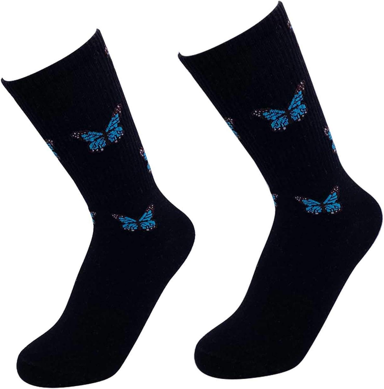 ITUOIDOU Women Socks Cotton Girls Cute Fun Crew Socks