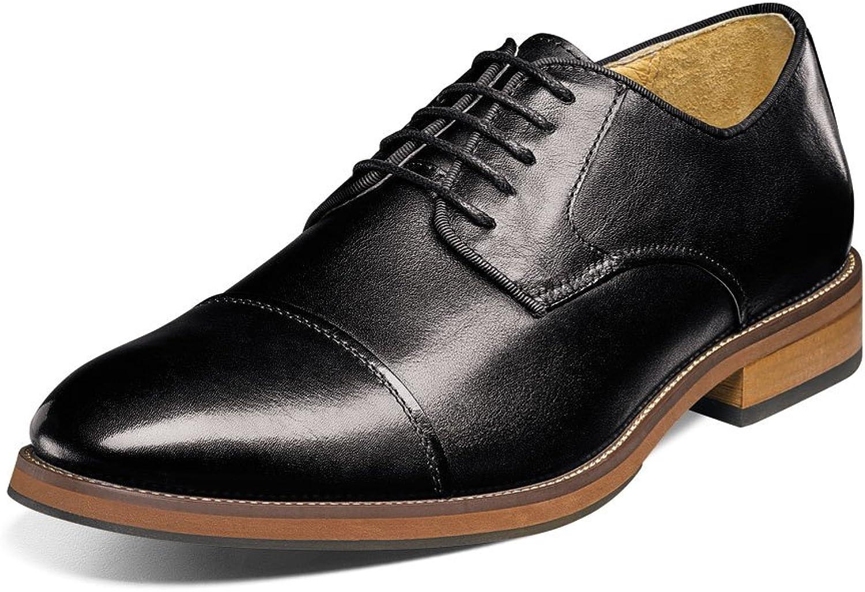 8dd0c9a4741d Florsheim Men's Blaze Black Cap Toe Oxfords Oxfords Oxfords shoes Sz ...
