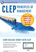 CLEP Principles of Management with Online Practice Exams (CLEP Test Preparation)