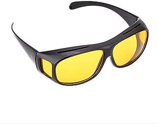 men's Sunglasses multi functional yellow film TV glasses night vision glasses new sunglasses myopic lenses