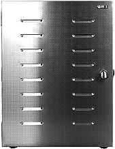 Máquina de conservación de alimentos para el hogar Deshidratador digital de alimentos, pantalla táctil eléctrica Termostato temporizador Bandeja de acero inoxidable de 8 capas Secador comercial Acero