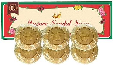 Mysore Sandalwood Soap 150g Double Size (Pack of 6)