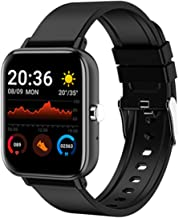 Weijie Fitness Tracker, Touch Screen Waterproof Smartwatch with Heart Rate Monitor Sleep Monitor, Waterproof Digital Watch Activity Tracker, Compatible with iPhone Android Phones