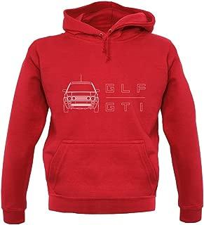 Dressdown GLF GTI - Unisex Hoodie/Hooded Top - 12 Colours