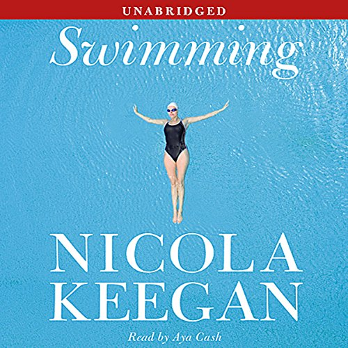 Swimming audiobook cover art