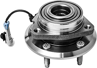 Front Wheel Hub and Bearing Assembly Left or Right Compatible Chevrolet Captiva Sport Equinox Pontiac Torrent Saturn Vue Suzuki XL7 AUQDD 513276 [ 5 Lug W/ABS ]