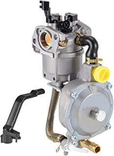 uxcell New Generator Dual Fuel Carburetor Carb LPG NG Conversion Kit 2KW GX160 GX200 168F 170F Manual