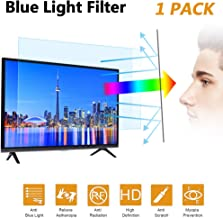 """32 in Blue Light TV Screen Protector, Anti Blue Light & Glare Filter Film Eye Protection Blue Light Blocking Screen Protector for 32"""" LCD, LED, OLED & QLED 4K HDTV Display 16:9 (32in)"""