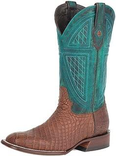 Stetson Big Horn Mens Brown Alligator Cowboy Boots 9.5EE
