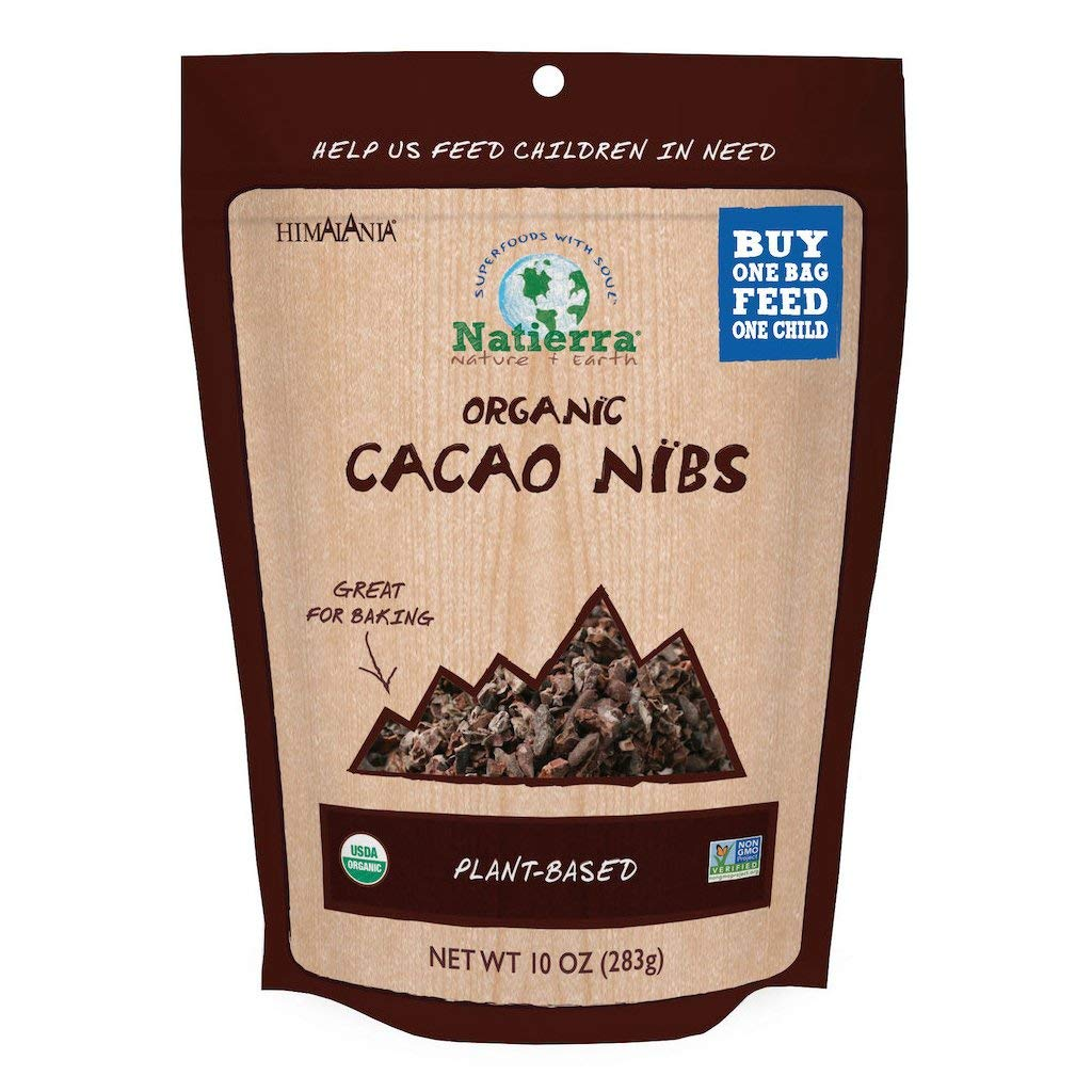 NATIERRAHimalaniaOrganic Max 66% OFF Cacao Nibs Ve Pouch In a popularity Non-GMO