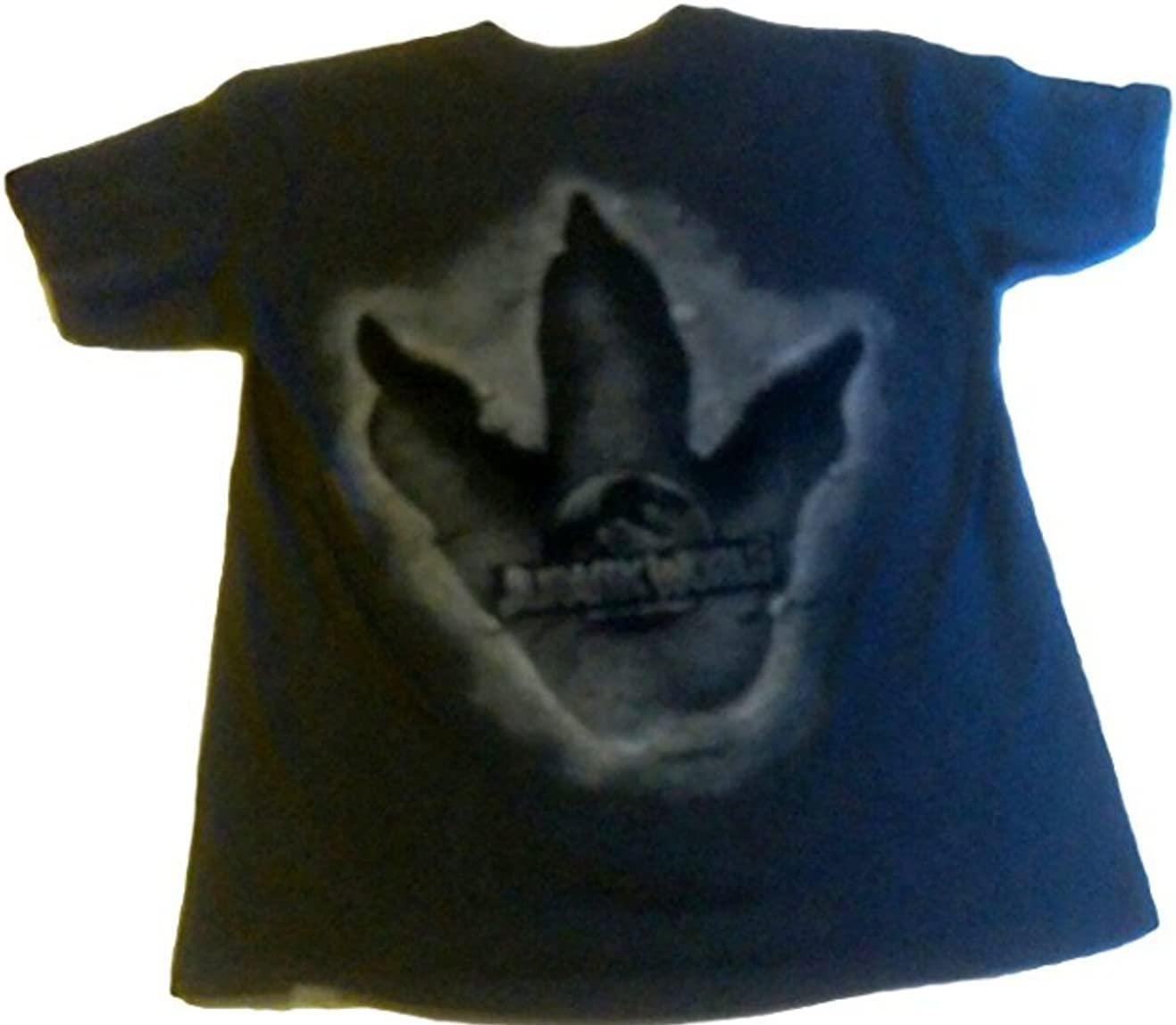 Jurassic World Boys Tee Shirt (XL 14/16, Gray)