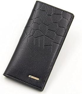 BeniMen's long wallet multi-function casual vertical men's bag-black
