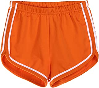 15b220871270a7 Amazon.fr : fitness - Orange / Shorts et bermudas / Femme : Vêtements