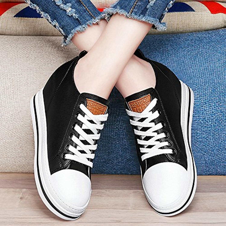 NGRDXG Zunahme Der Weißen Schuhe Weibliche Dicke Biene Schuhe Schuhe
