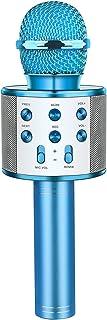 LetsGO toyz Microphone Bluetooth sans fil Karaoké pour Enfants, Cadeau & Jouet