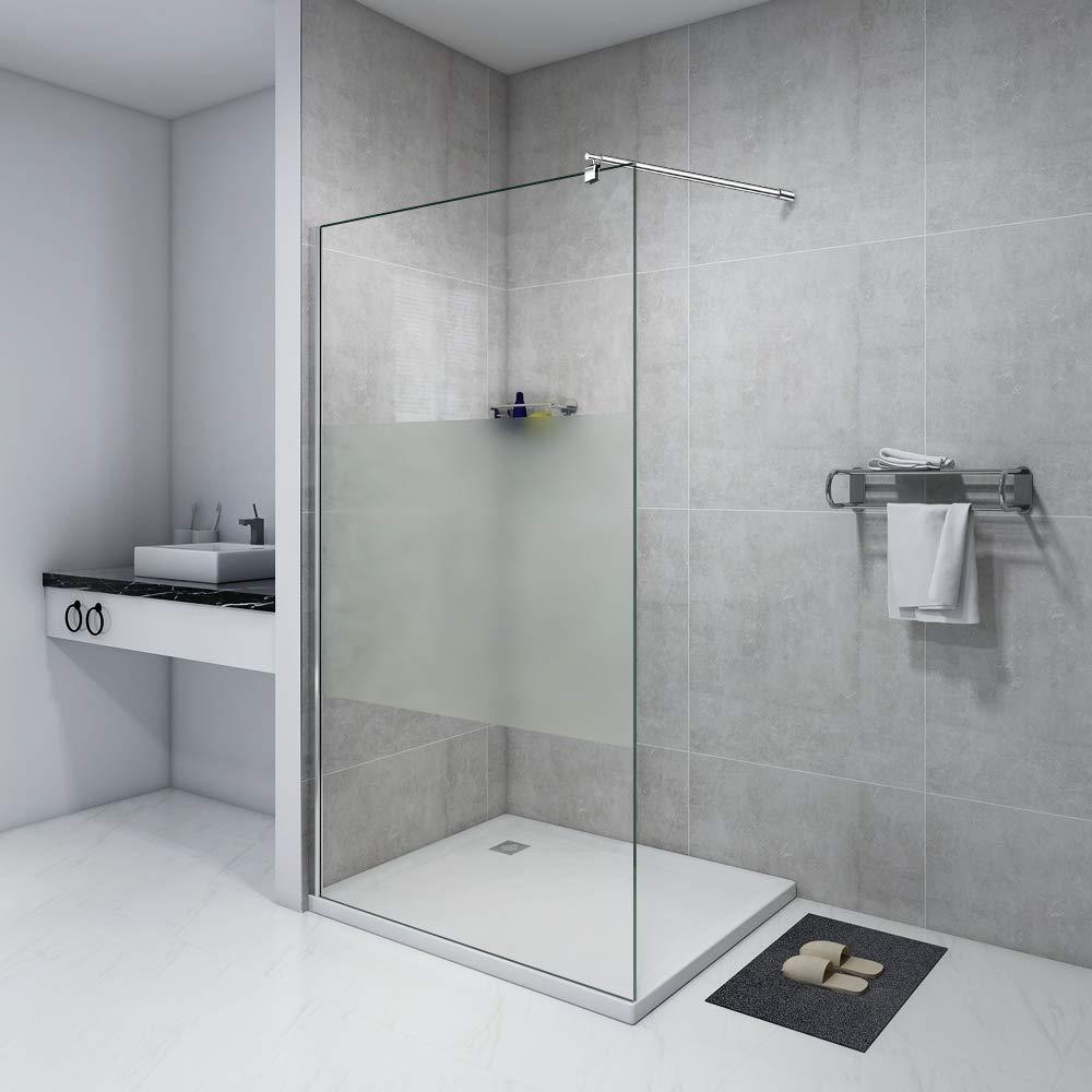 Mampara de ducha 120 x 200 Walk pared de lado en ducha de ducha ...