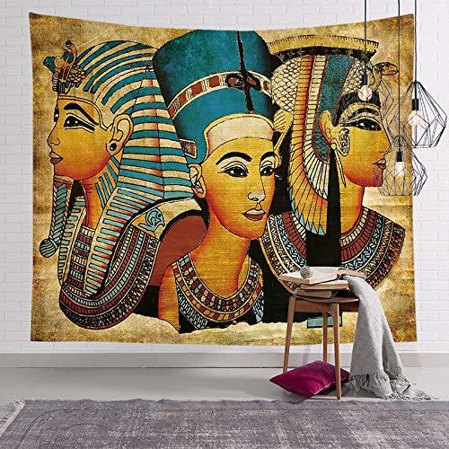 Tapiz del faraón egipcio antiguo pintura famosa colgante de pared pirámide pirámide estera de yoga toalla de playa tapiz egipcio a3 150x200cm