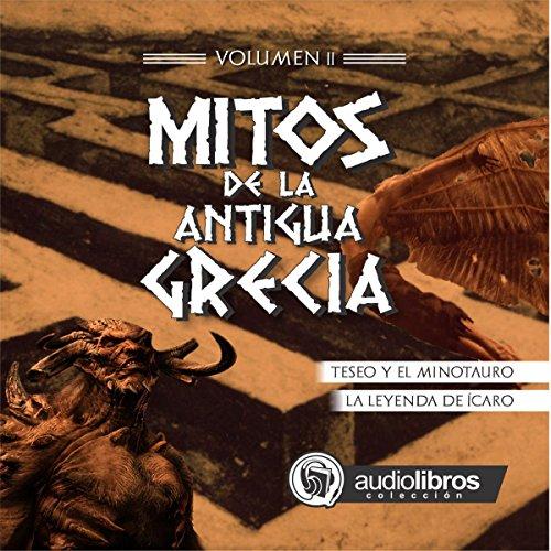 Diseño de la portada del título Mitos de la Antigua Grecia II