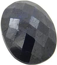 Skyjewels Certified 21.35 Carat Oval Checker Blue Sapphire (Neelam) Loose Birthstone