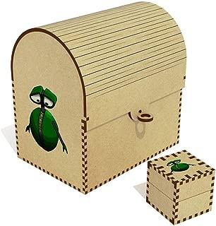 Azeeda  Green Robot  Treasure Chest Jewellery Box  TC00041040