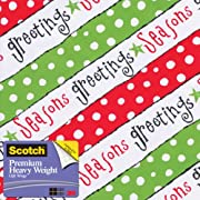 Scotch  Gift Wrap, 25-Square Feet, 30-Inch x 10-Feet