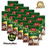 Melitta Auslese klassisch Filterkaffee 18x 500g - Kaffee aus besten Anbaugebieten