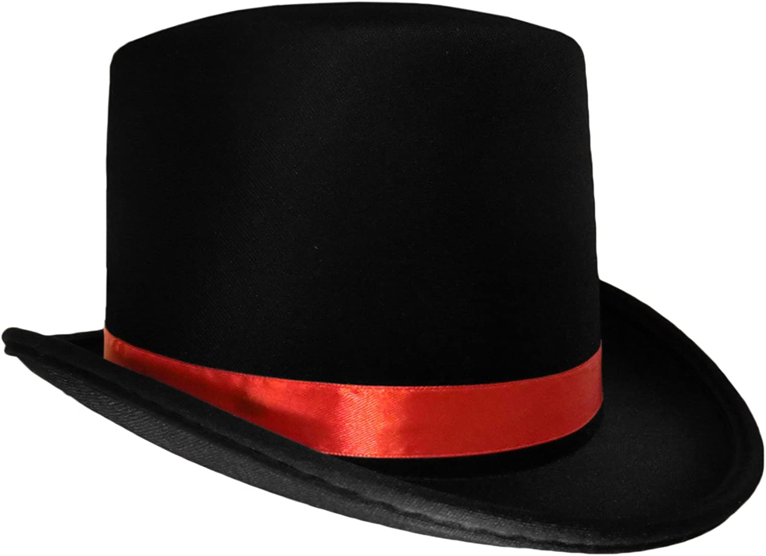 Vampire Black Top Rapid rise Hat with Red Today's only - Snowman Band Hats Caroler Rin
