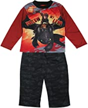 INTIMO Boys How to Train Your Dragon Night Fury Pajama Short Set