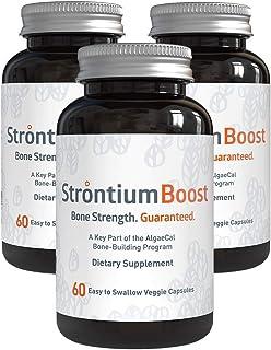 Strontium Boost – Natural Strontium Citrate Supplement (3 Bottles)