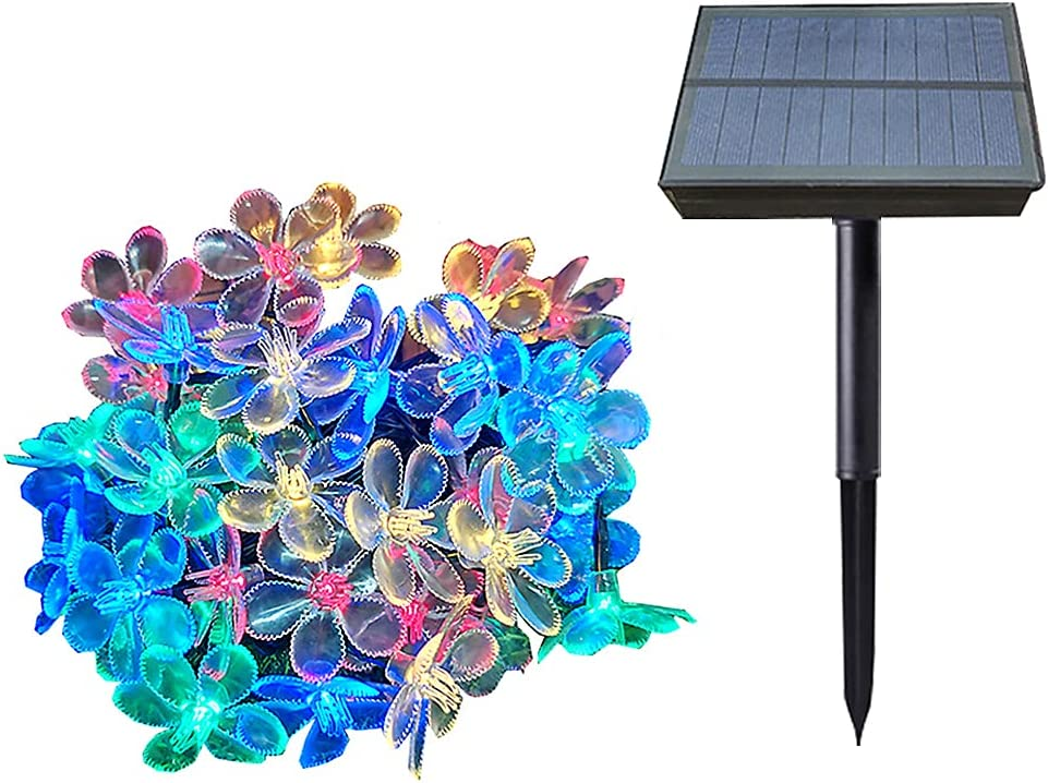 Solar Powered String Product Lights Fairy Lig Tucson Mall Blossom LED