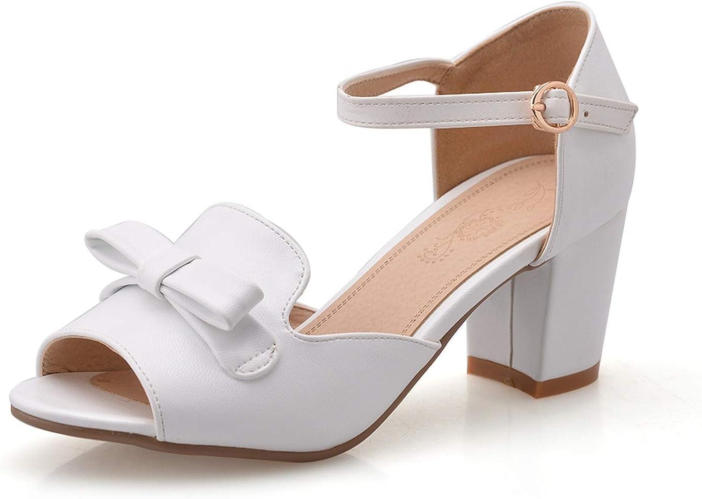 QianQianStore Women shoes Open Toe Ladies Thick Heel Sandals Platform Sandals High Heels Sandals Female Sandals