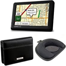 Garmin nüvi 1490T 5-Inch GPS Navigator with Carry Case and Friction Mount