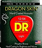 DR String DSA-12 Dragon Skin Set di corde per chitarra acustica