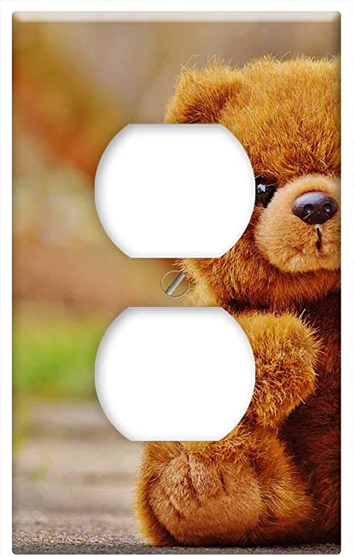 Switch Plate Outlet Cover Bear Teddy Soft Toy Stuffed Animal Teddy Bear 11