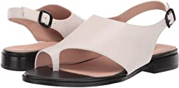 Modern Bone Leather Sandal with toe and heel strap