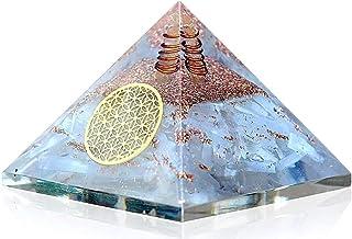Desconocido Orgonita pirámide Cuarzo Blanco geometría Sagrada Flor de la Vida