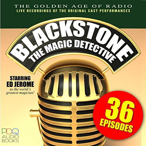 Blackstone, the Magic Detective audiobook cover art