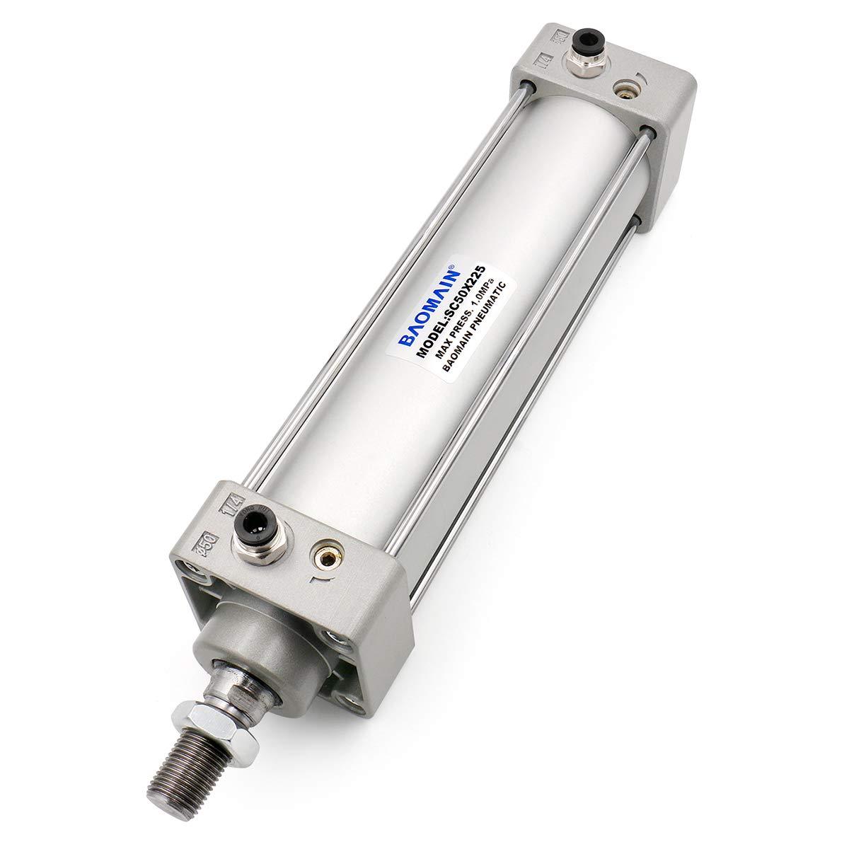 Baomain Discount mail order Pneumatic Air Cylinder SC 50 x 2