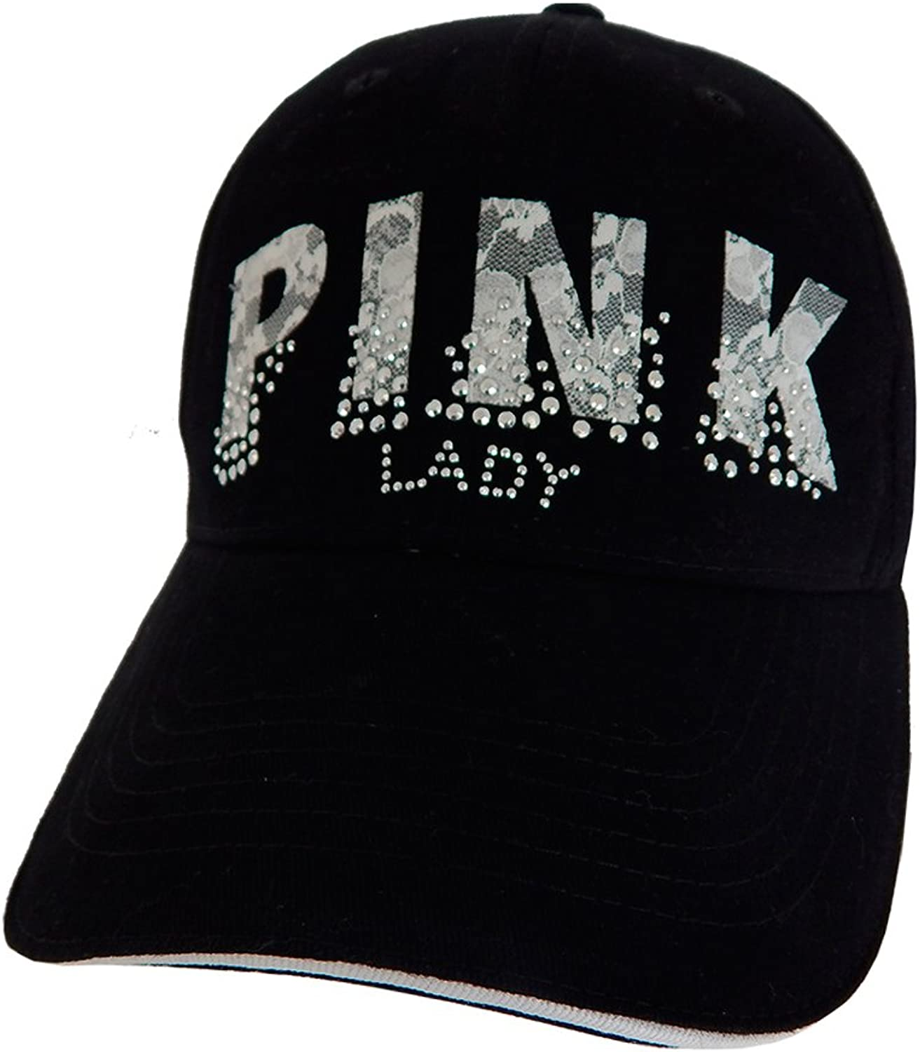 Alabama Girl  Pink Lady Lace Lettering Hat