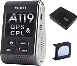 VIOFO A119 V2 Dash Camera with GPS Logger & CPL 2018 Edition (OCD Tronic Certified)