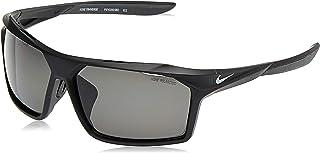 NIKE Men's Traverse P EV1043 Sunglasses, (Matte Black/Polarized Grey), 65.0