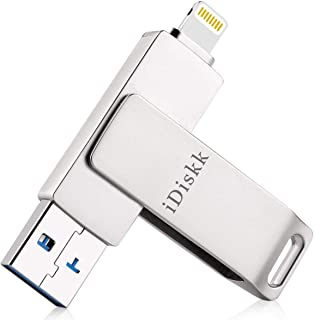 iDiskk - Memoria USB de 128 GB para iPhone 12 11 Pro XR X XS