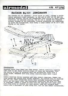 Airmodel 1:72 Bucker Bu-131 Jungmann Vacuform Aircraft Model Kit #278
